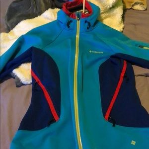 Columbia jacket size small.